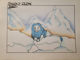 Asian Mythical Beasts ~ Snow Lion