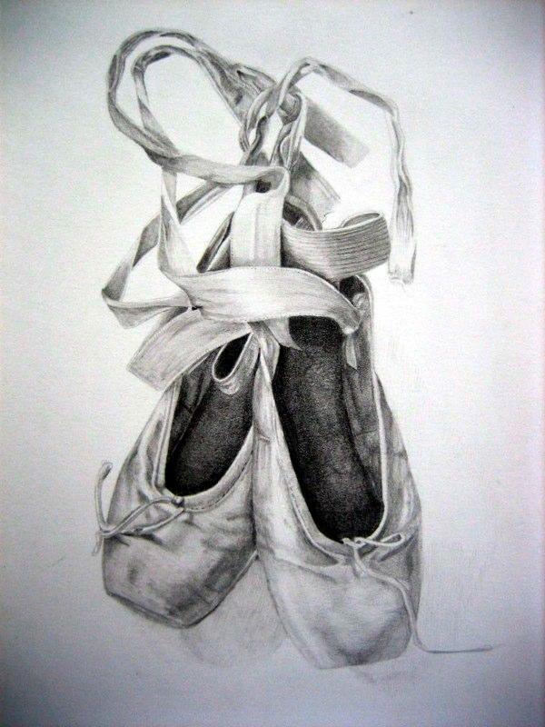 ballet shoes by sarahleeart on deviantart. Black Bedroom Furniture Sets. Home Design Ideas