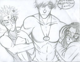 Captain Hans -Zorin and Rip- by Lsayaku