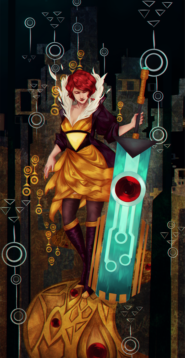 Image result for transistor wallpaper