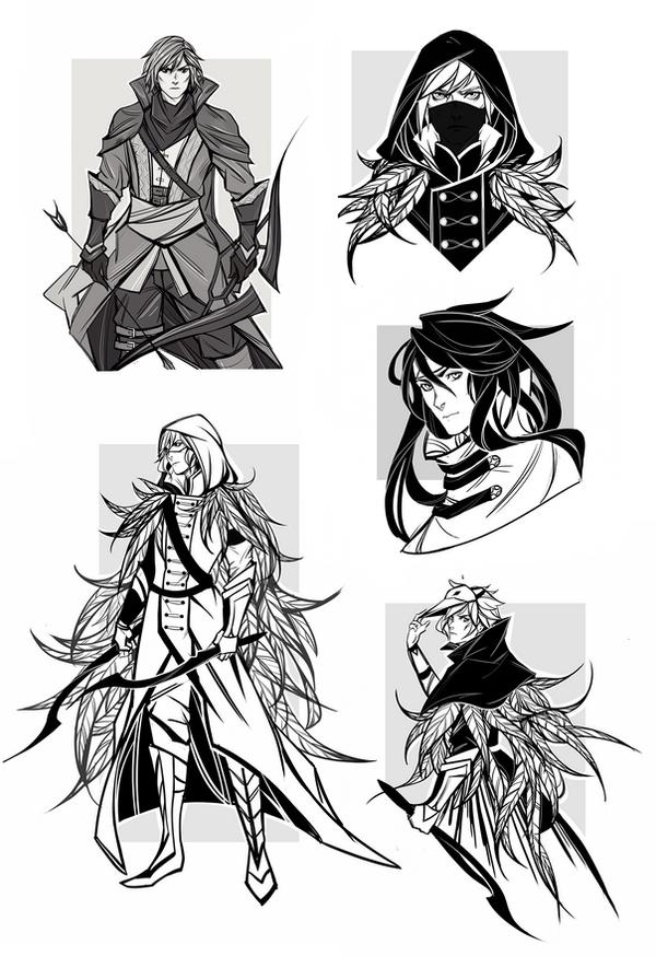 sketches by RobasArel