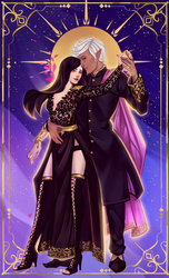 Tabitha and Leif [Commission]