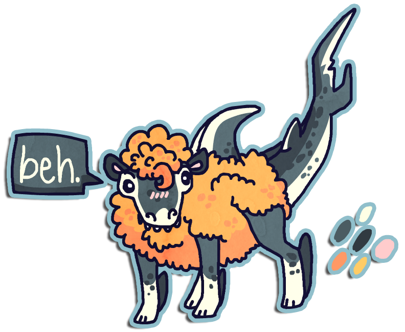 Sharksheep for Magical-Fish by Shroommu