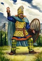 Dacian nobleman by deWitteillustration