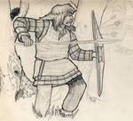 Gaul hunting heads