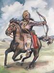 Scythian tribeswoman