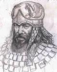 Scythian Noble III by deWitteillustration