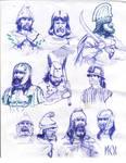 Dacians Thracians Illyrians by deWitteillustration