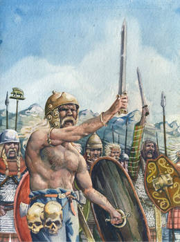 Gauls on the battle line
