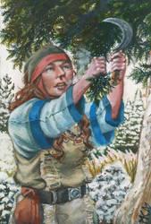 The Herbalist by deWitteillustration
