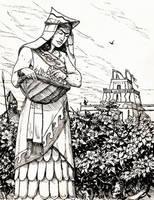 Absu noble by deWitteillustration