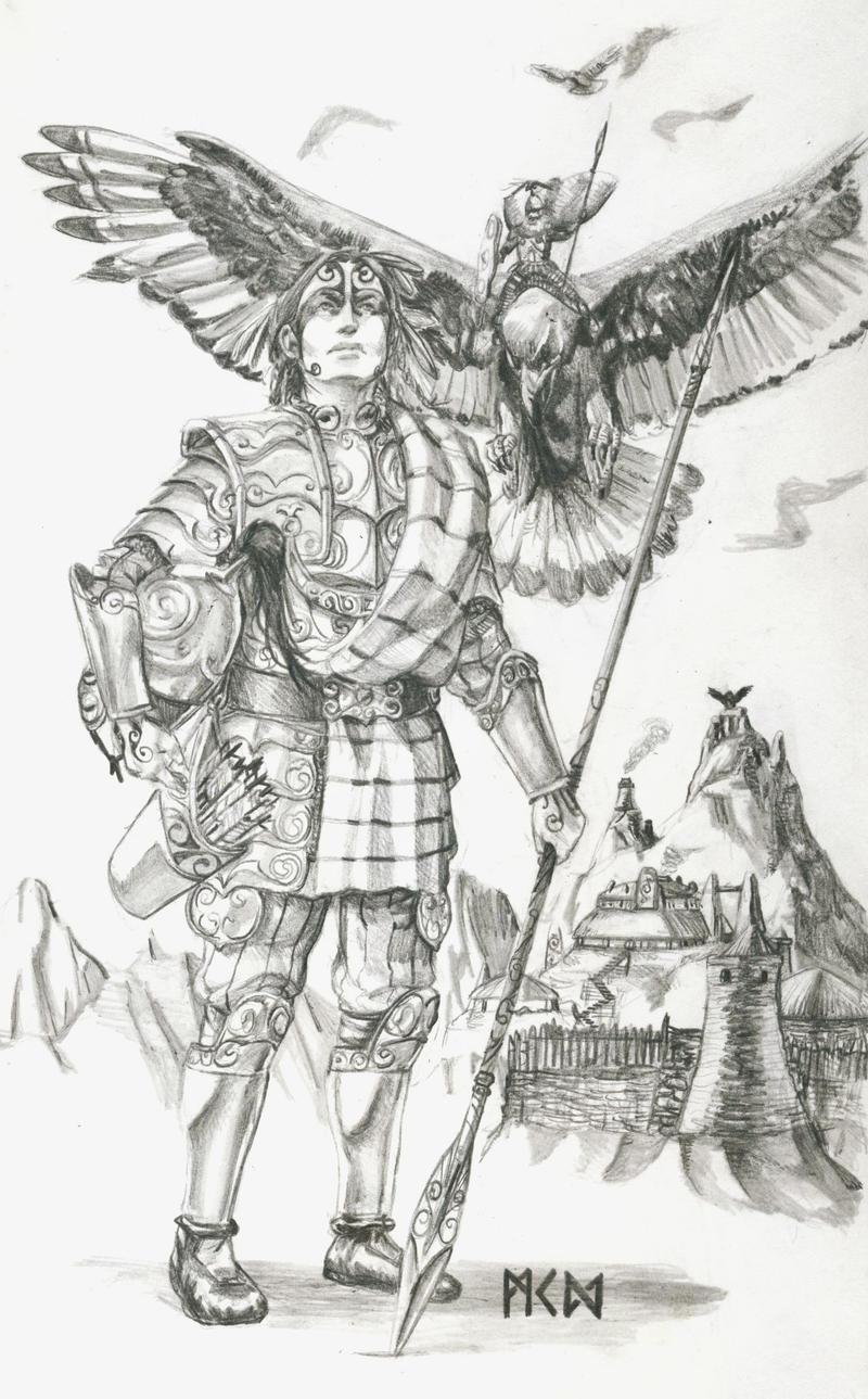 Warhammer Albion - Buddug of the Toulenii
