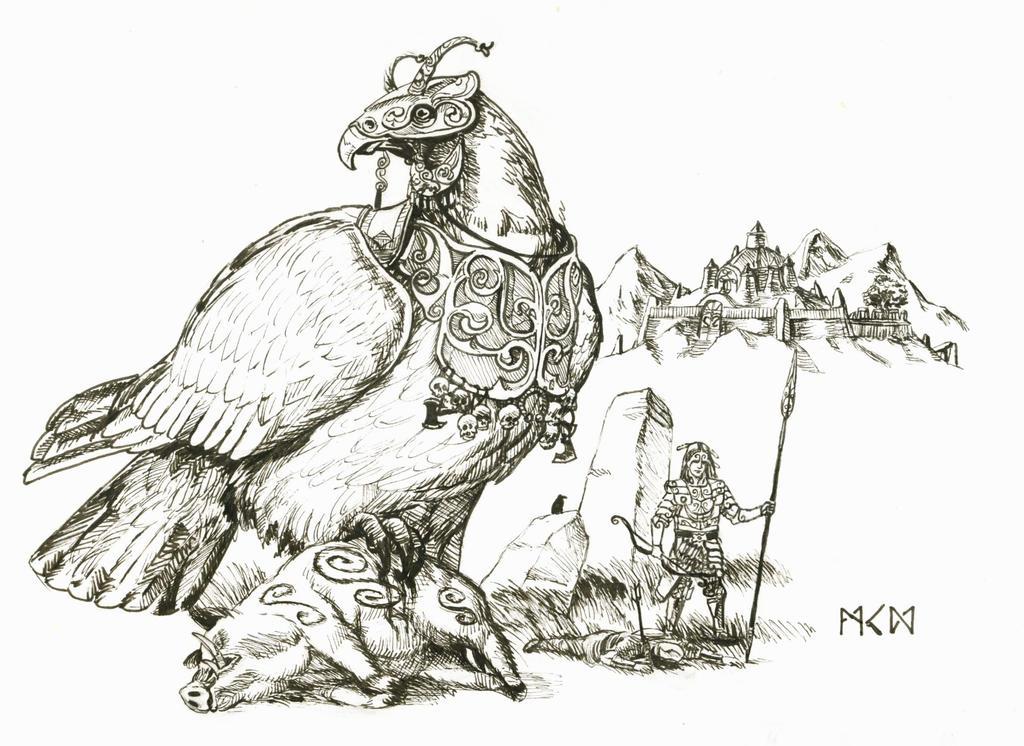 Warhammer Albion - Buddug and Andarta