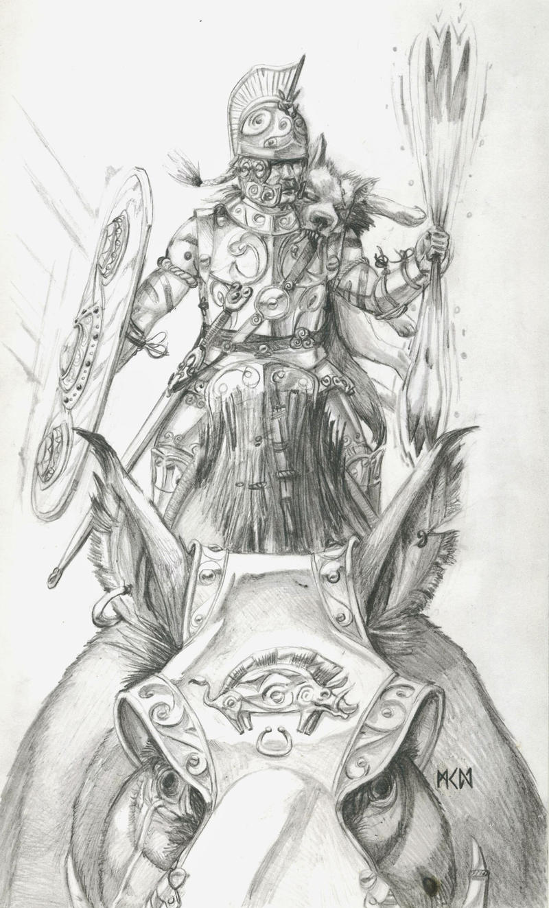 Warhammer Albion - Begorix of the Boreni