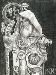 Warhammer Albion - Draoiorix by deWitteillustration