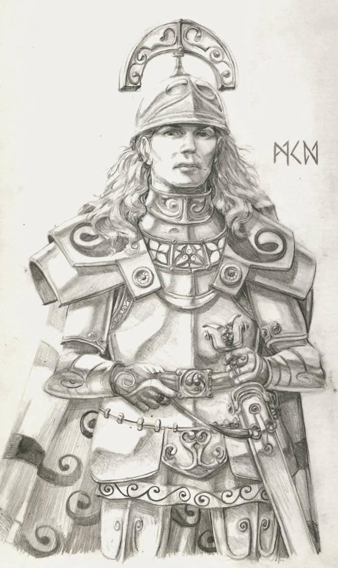 Warhammer Albion - Vaia of the Belenii by deWitteillustration