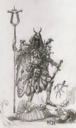 Warhammer Albion - Ternoash the Deceiver by deWitteillustration