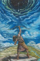 Nimrod challenger of God by deWitteillustration