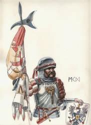 Warhammer - Empire Reiklander Soldier by deWitteillustration