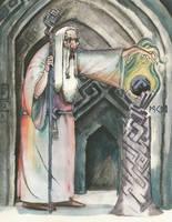 Saruman by deWitteillustration