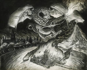 The death of Smaug