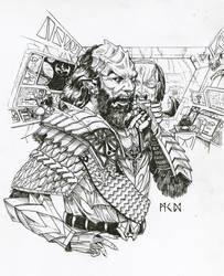 Klingon commander