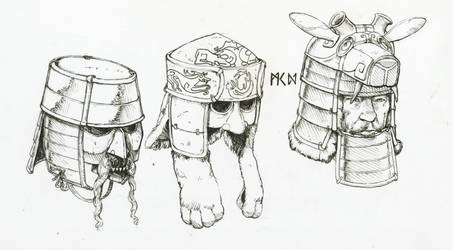 Helmets of Herigaturi