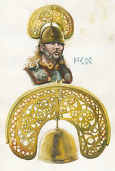 Reconstruction of North Bersted helmet 50BC
