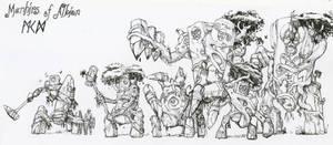 Warhammer Albion - Manhirs