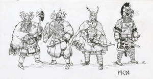 Herigaturi warriors