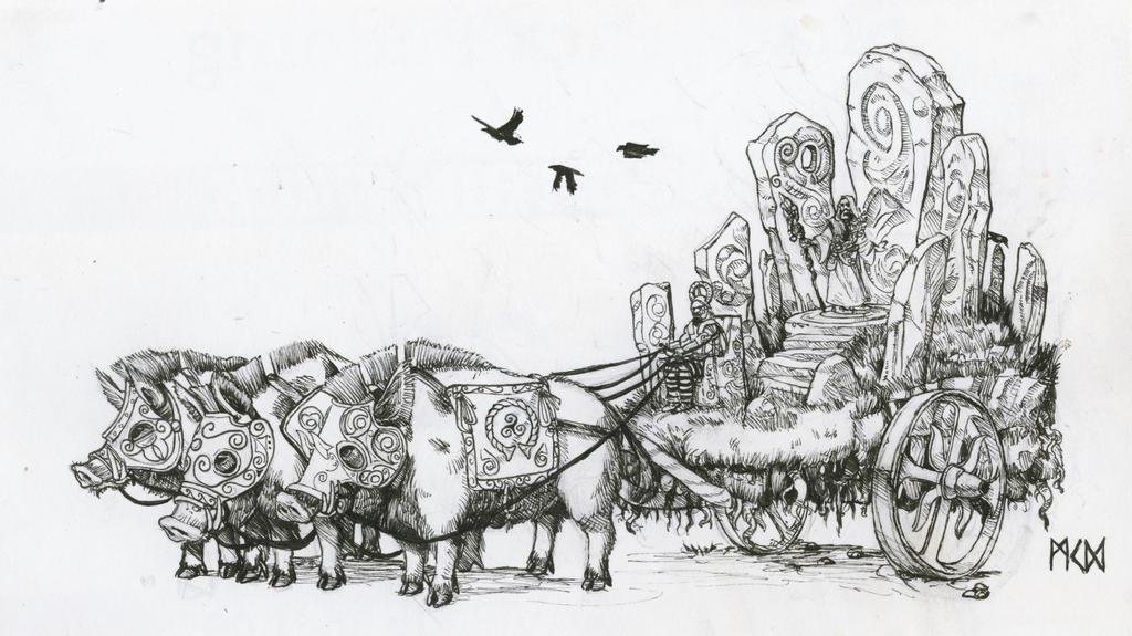 Warhammer Albion - Henge Chariot