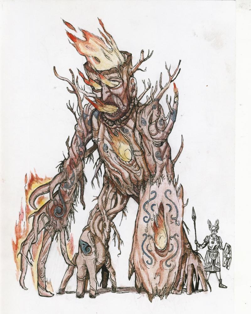 Warhammer Albion - Wicker Man