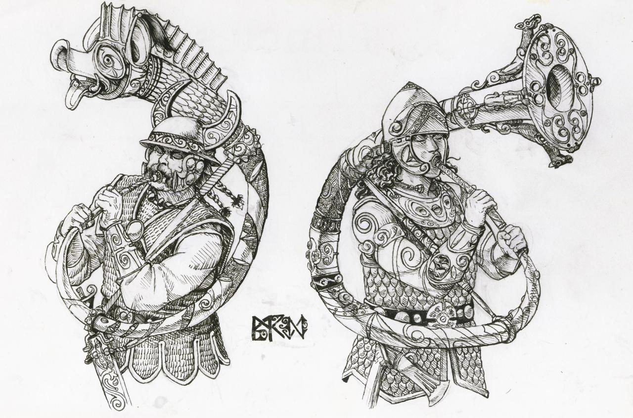 Warhammer Albion - Cornu players