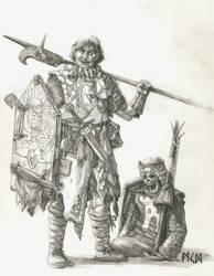 Commission - Grail Pilgrim