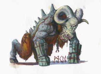 Beastmen Thickskull
