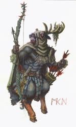 Beastmen Deergor