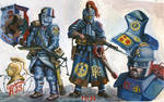 Trenchpunk Knights of the French Third Republic