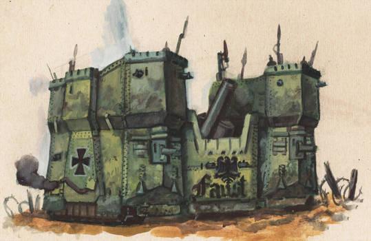 Hohenzollern mobile castle
