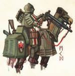 trenchpunk british anti armour knight