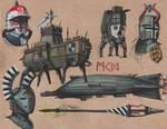 Trenchpunk Deutschland doodles