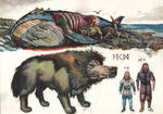 Sarkku scavengers and size comparison