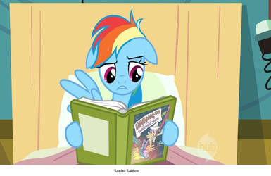 Reading Rainbow pun