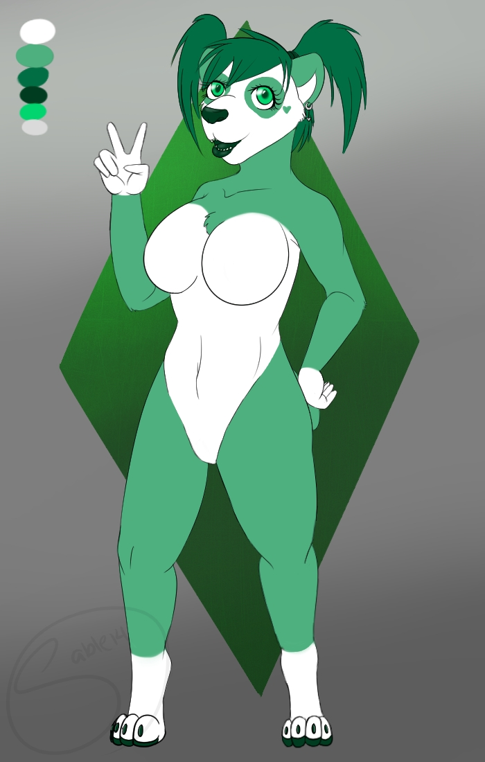 Meet Emerald (Emmy) by ClaireSable