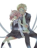 Inu X Boku SS: --hey... by hizukin