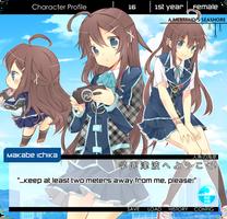 NNK - Makabe Ichika by hizukin