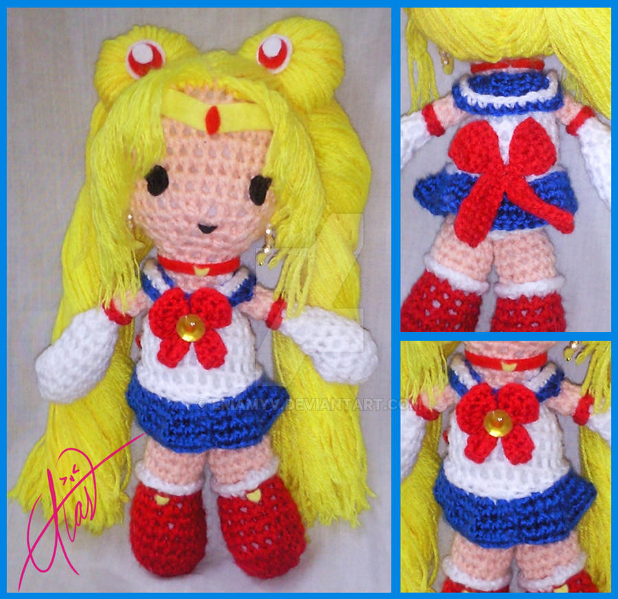 Moon Amigurumi Pattern Free : Sailor Moon Amigurumi by Eriamyv on DeviantArt