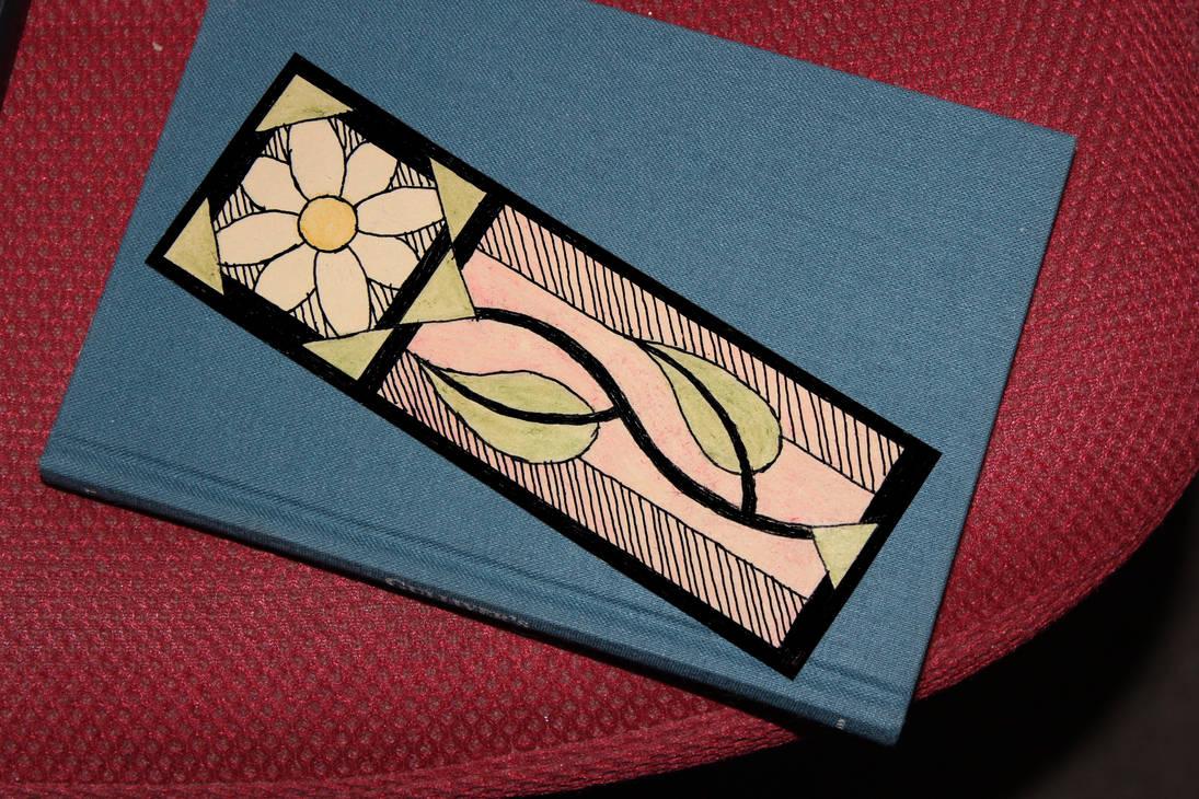 Flower Bookmark by Krichotomy