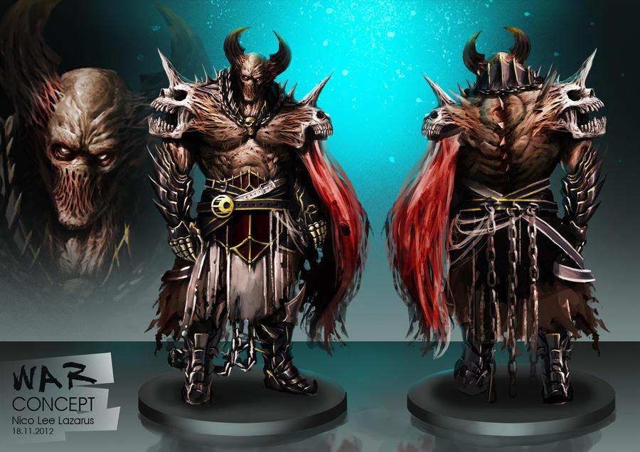 Four horsemen of the Apocalypse - WAR by orochi-spawn