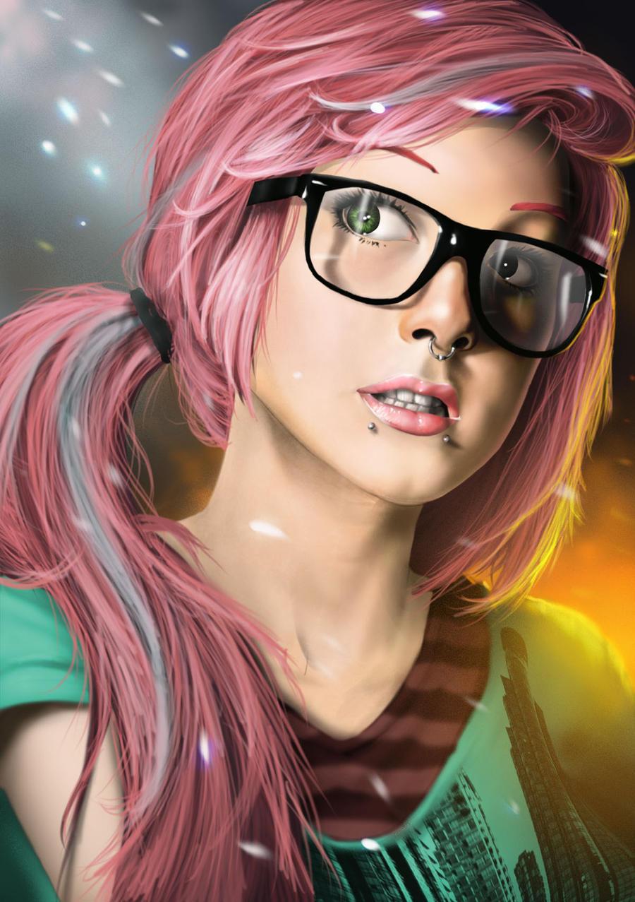 Sandy Lewis Punk_girl_portrait_by_orochi_spawn-d5npcfh