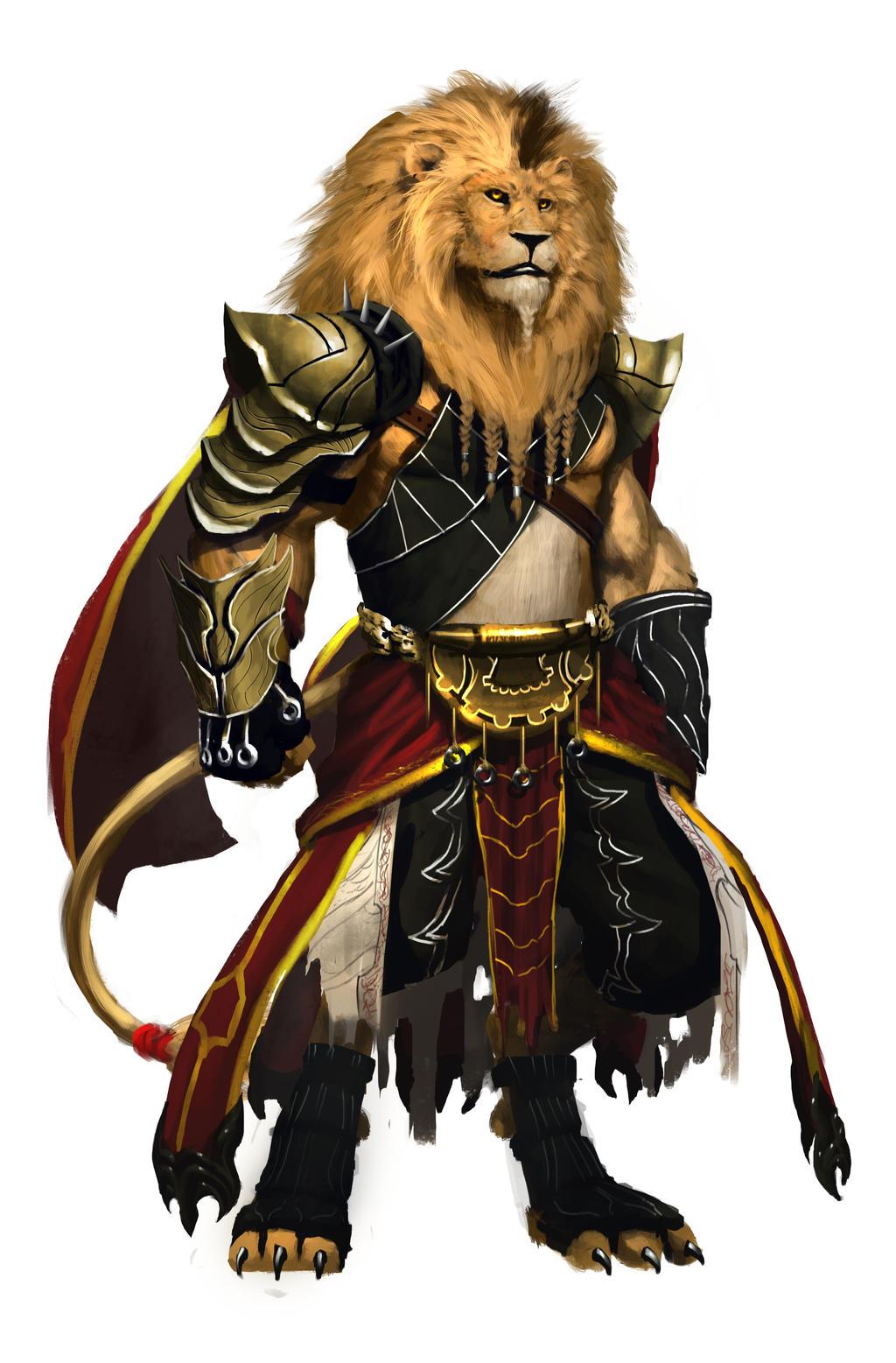 Anime Lion Warrior Lion warrior 1 by orochi-spawnLion Warrior